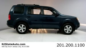 Used Cars in NJ Auto Auction - 2011 Honda Pilot 4WD 4dr EX-L Passenger Side