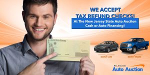 TAX REFUND SALE at NJ Auto Auction
