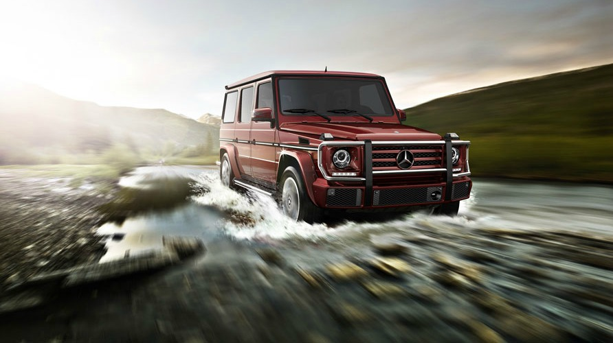 Celebrities and the mercedes benz g class suv for Mercedes benz suv models list