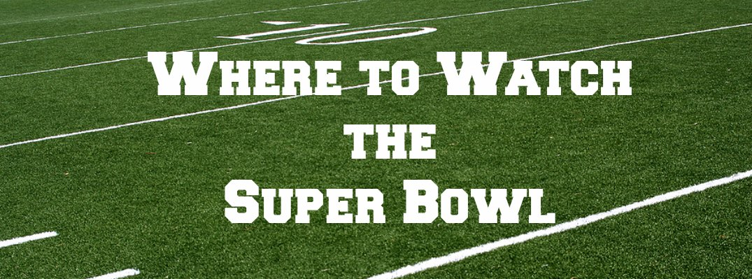 Where to Watch the Super Bowl North Miami Beach FL