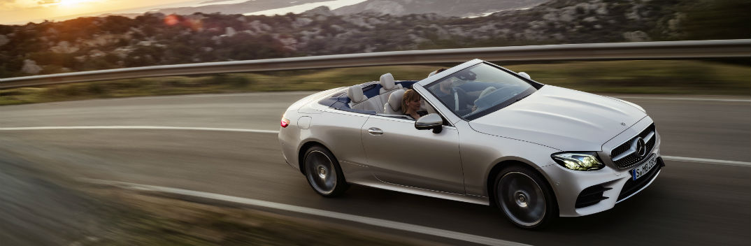 First Look at the New 2018 E-Class Cabriolet