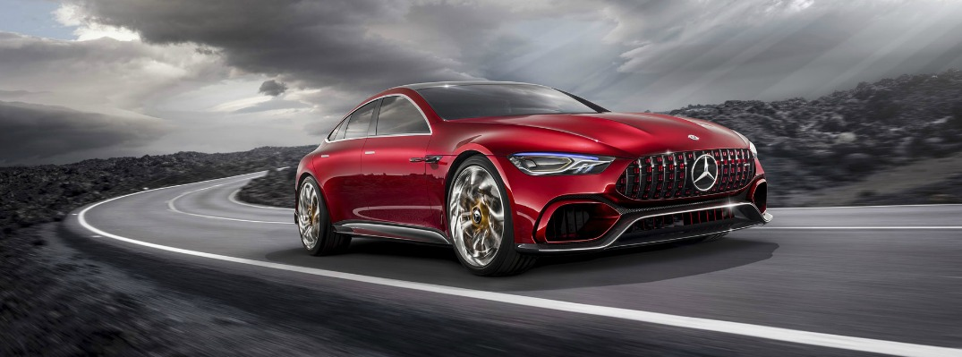 2018 Mercedes-AMG GT Concept Revealed at the Geneva Auto Show