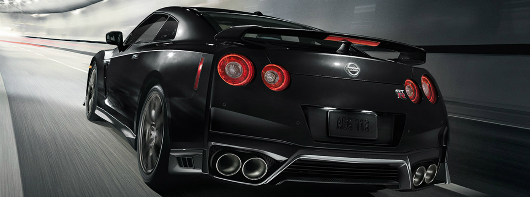 Features and Design of the 2017 Nissan GT-R Black