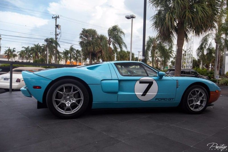 Ford Gt Heritage Edition Exterior Passenger Side