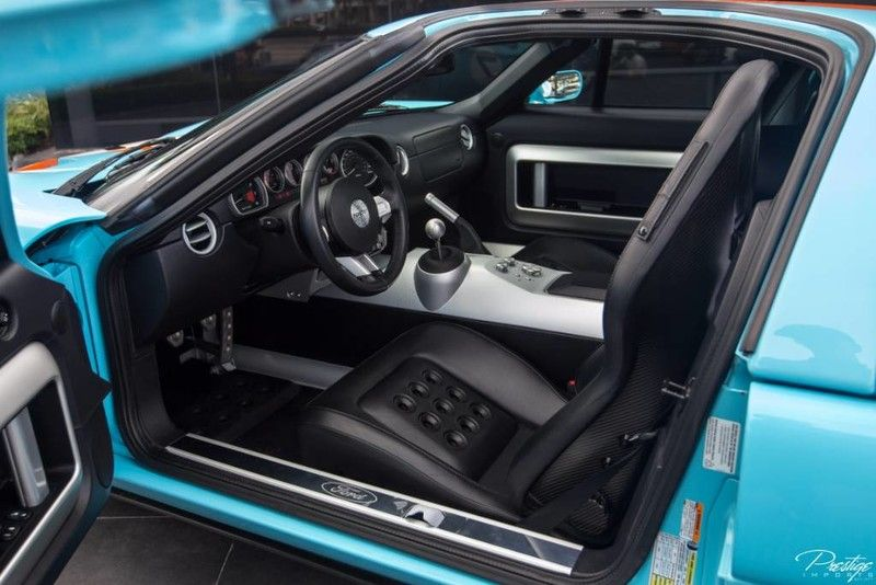 Ford Gt Heritage Edition Interior Cabin Front