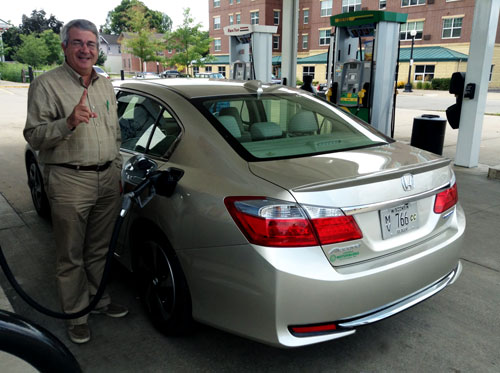 1,017 Mile Range In Our 2014 Accord Plug In Hybrid