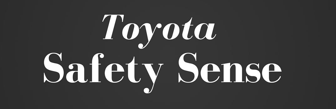 what toyota vehicles have toyota safety sense package. Black Bedroom Furniture Sets. Home Design Ideas