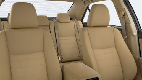 toyota cloth seating