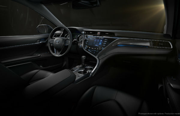 Exterior And Interior Photos Of The New 2018 Toyota Camry