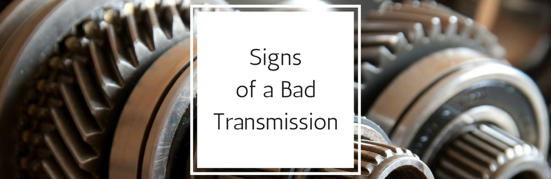 signs of a bad transmission