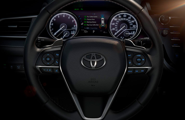 2018 toyota xse camry. modren toyota 2018 toyota camry steering wheel multiinformation display on xse b