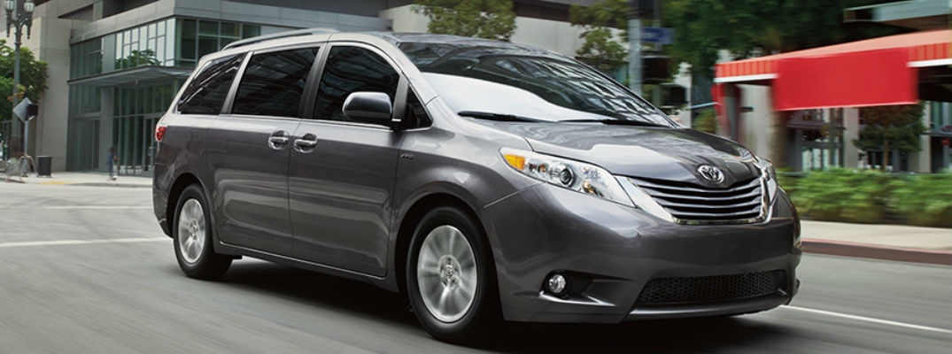How much space is in the 2017 Toyota Sienna?