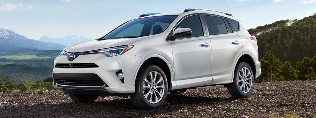 Is the 2017 Toyota RAV4 a crossover SUV?