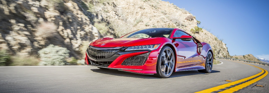 What is the 0 – 60 mph time of the 2017 Acura NSX?