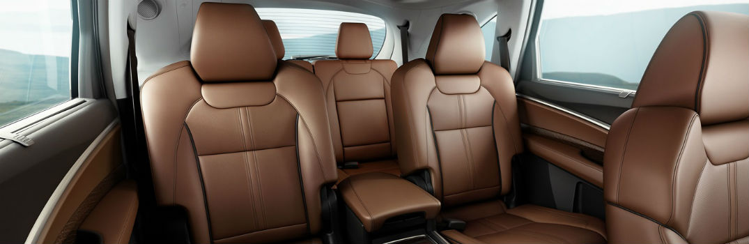 Cargo Space in the 2017 Acura MDX
