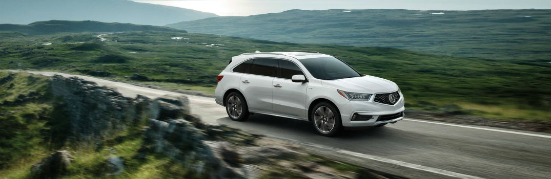 What is the Fuel Efficiency in the 2017 Acura MDX?
