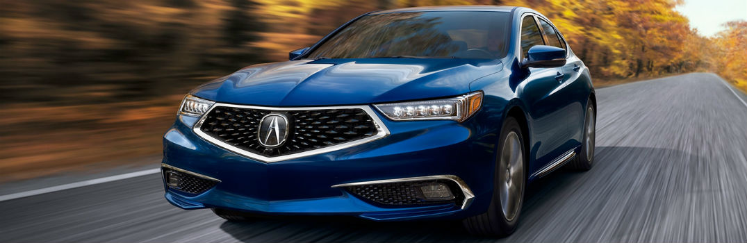 Technology Features in the 2018 Acura TLX