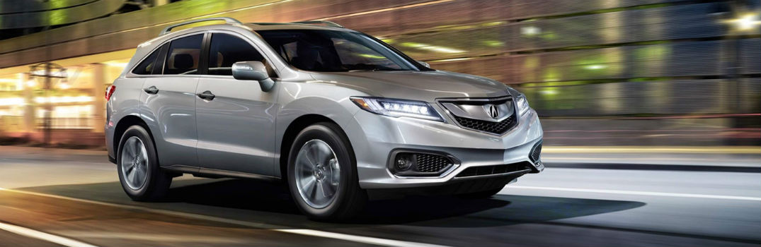 What is the Cargo Volume in the 2018 Acura RDX?