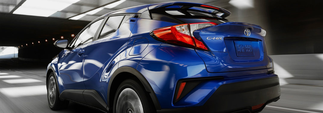How many color options are there for the 2018 Toyota C-HR