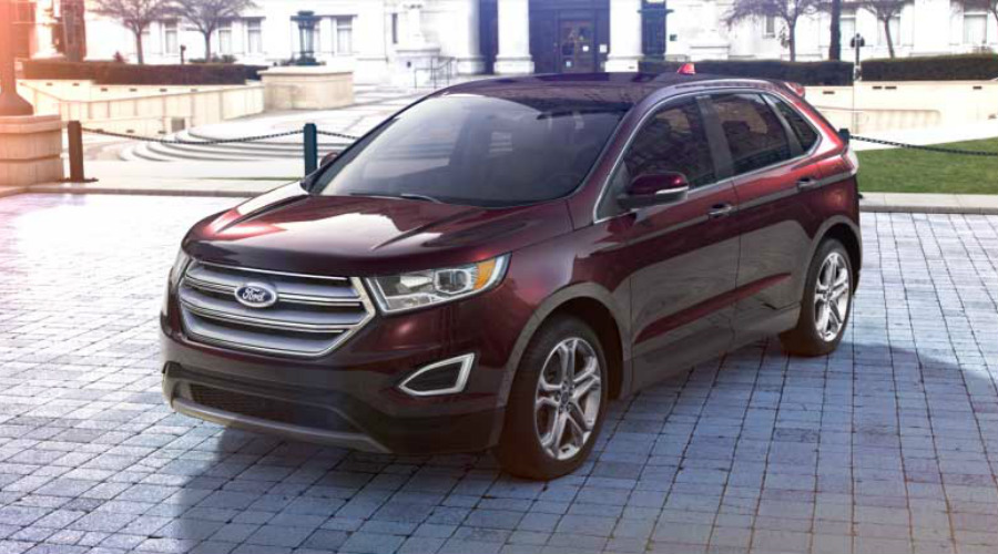 Color Options For The 2017 Ford Edge