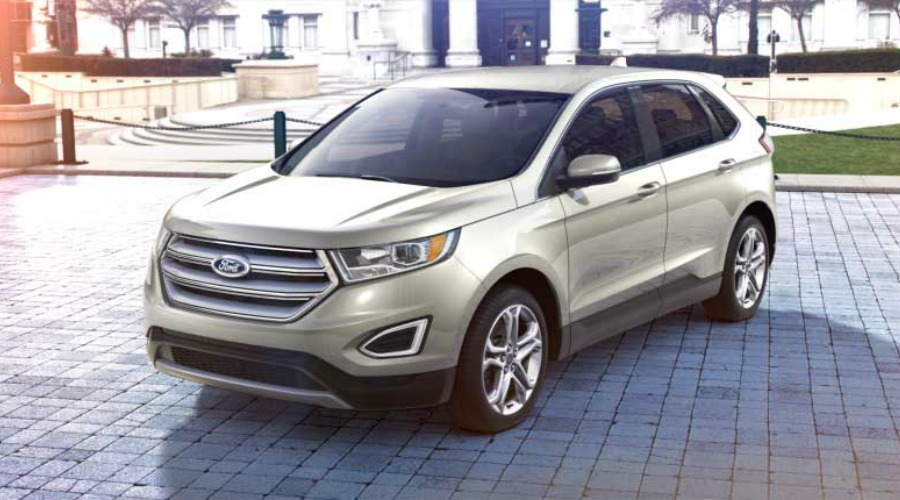 2018 Ford Edge Magnetic Metallic