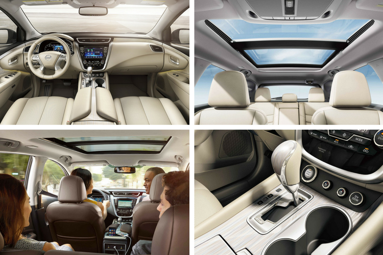 How spacious is the 2017 Nissan Murano?