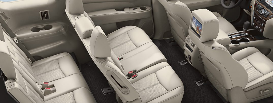 how many passengers does the nissan pathfinder seat. Black Bedroom Furniture Sets. Home Design Ideas