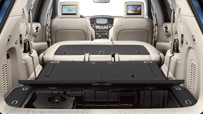 how many people does the nissan pathfinder seat. Black Bedroom Furniture Sets. Home Design Ideas