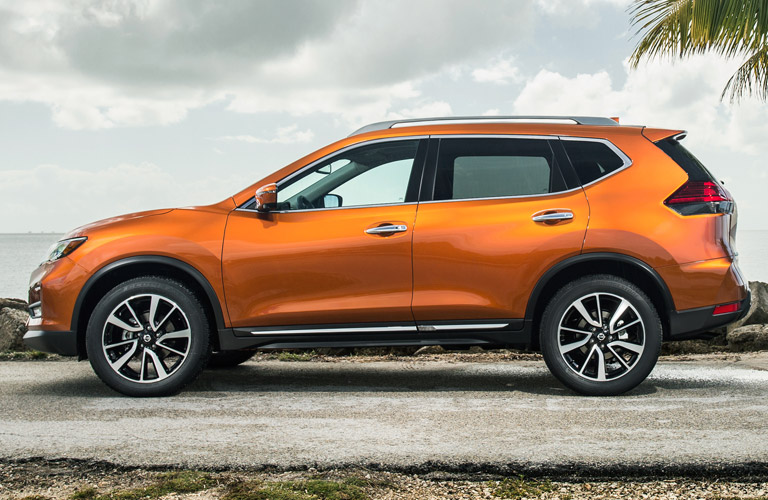 2017 Nissan Rogue Exterior Color Options