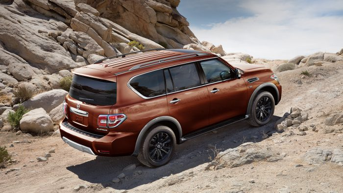 2017 Nissan Armada Off Road Performance