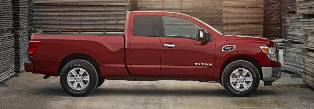 what is the msrp of the 2017 nissan titan and titan xd king cab models. Black Bedroom Furniture Sets. Home Design Ideas