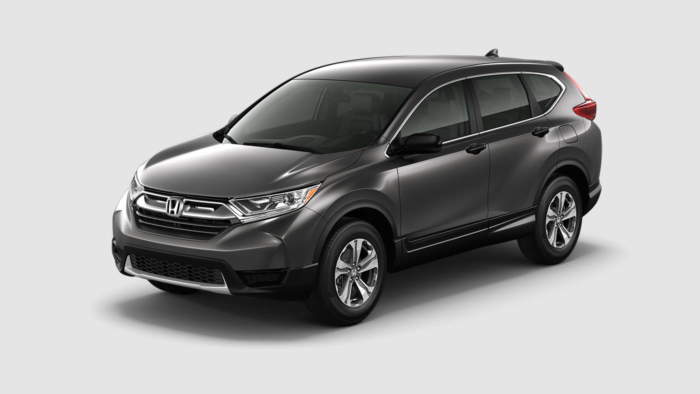 what exterior colors can you get with the 2017 honda cr v