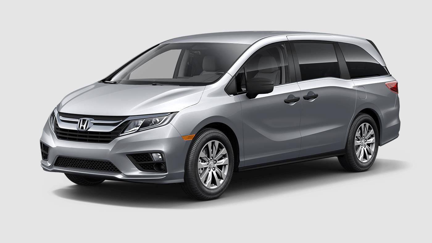 2018 Honda Odyssey Exterior Color Options on LX and Above