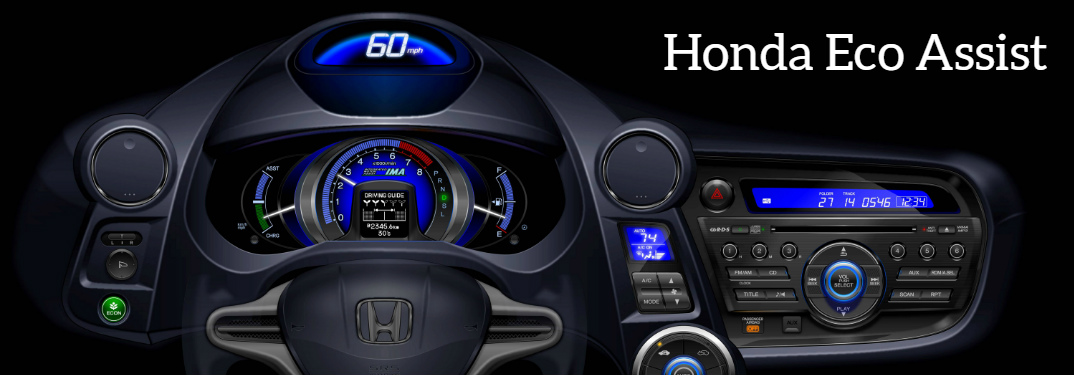 How does Honda Eco Assist work?