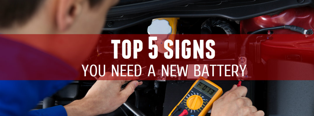 Signs You Need A New Car Battery