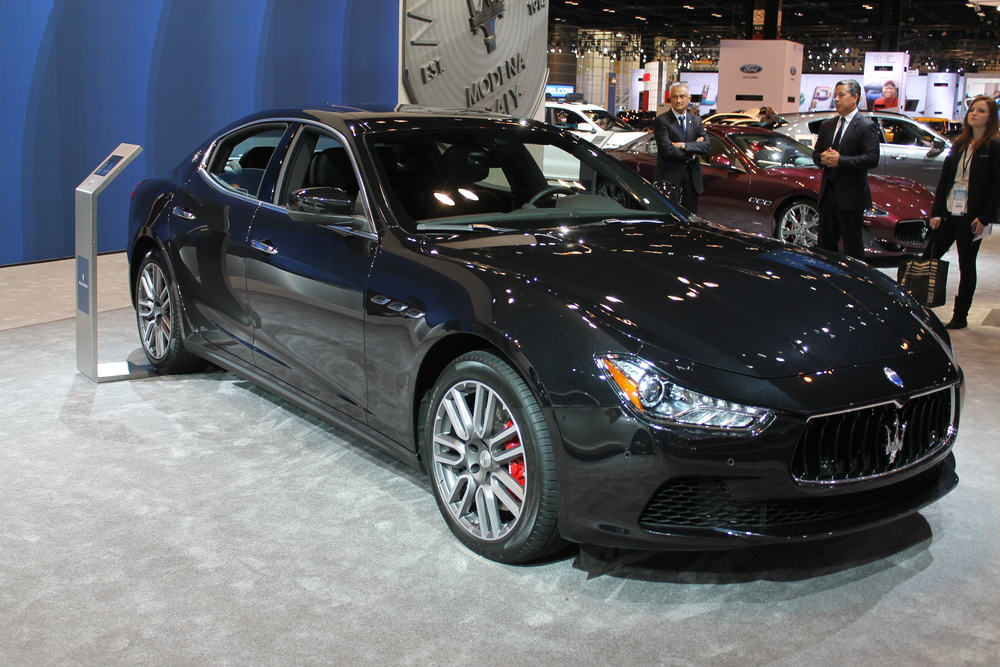 what maserati vehicles are at the 2017 chicago auto show. Black Bedroom Furniture Sets. Home Design Ideas