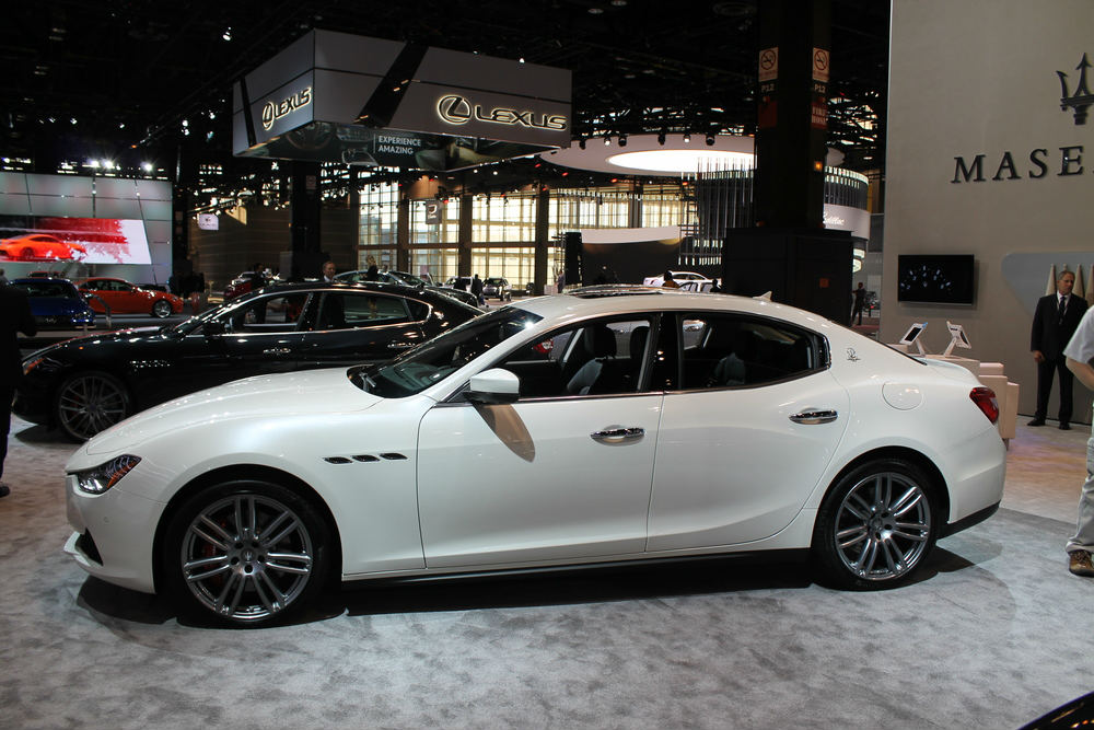 What Maserati Vehicles Are At The Chicago Auto Show - Bmw plano car show