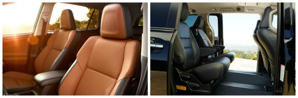 vehicle interior fabric comparison leather vs leatherette. Black Bedroom Furniture Sets. Home Design Ideas