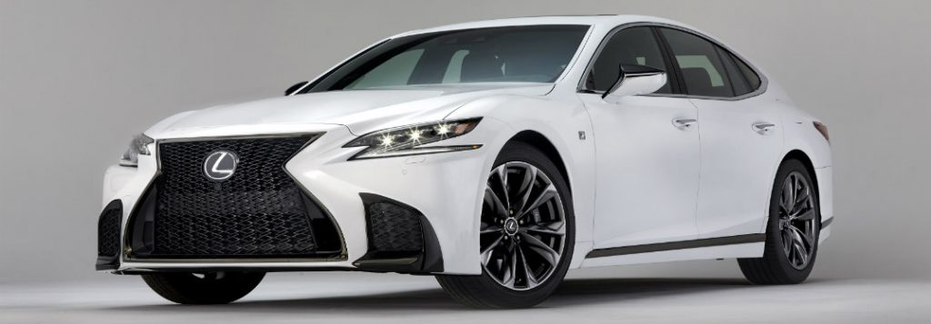 2018 Lexus Ls 500 F Sport Chassis And Grille Highlights