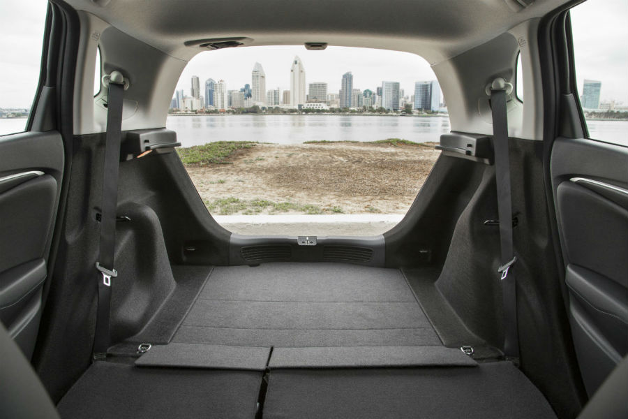 2017 Honda Fit Rear Interior Cargo Capacity_o