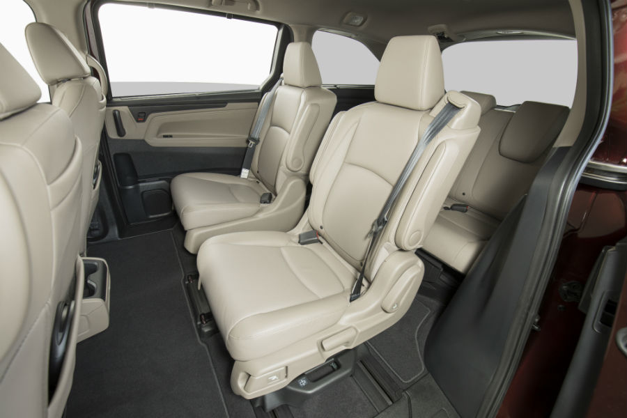 new second row seats for the 2018 honda odyssey. Black Bedroom Furniture Sets. Home Design Ideas