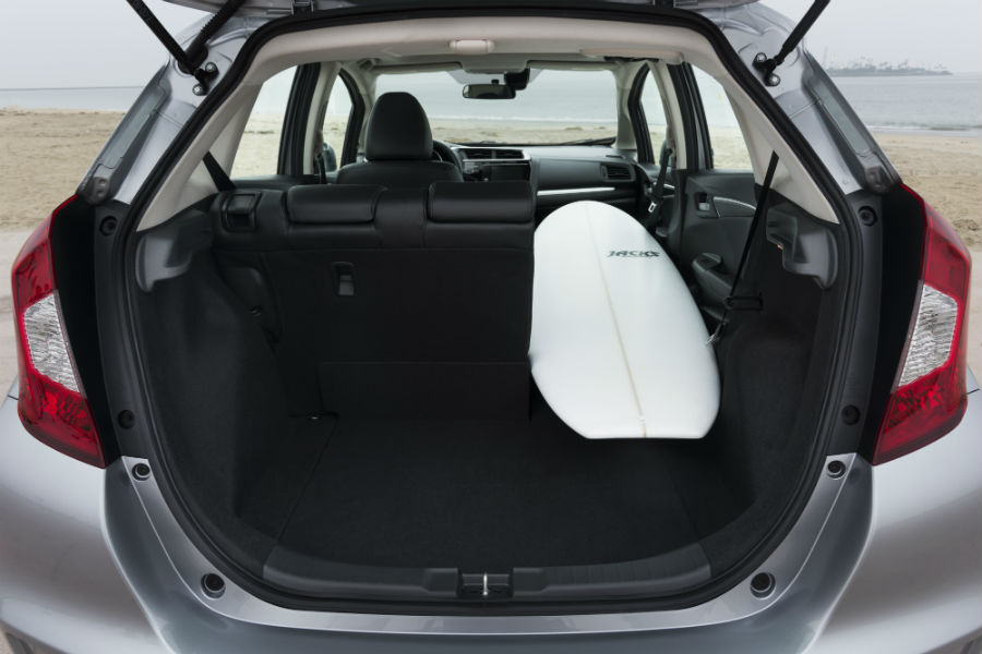 Cargo And Passenger Space Information For 2018 Honda Fit