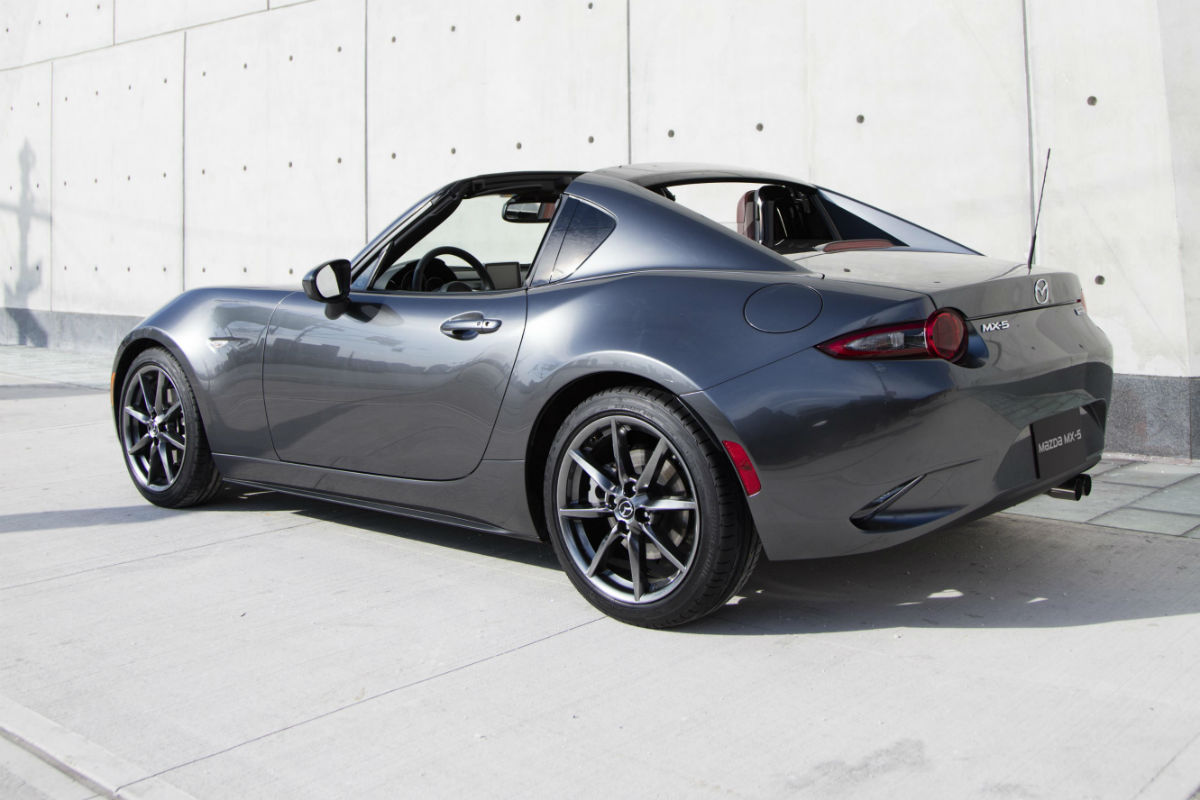 2017 Mazda MX-5 Miata RF side rear exterior_o