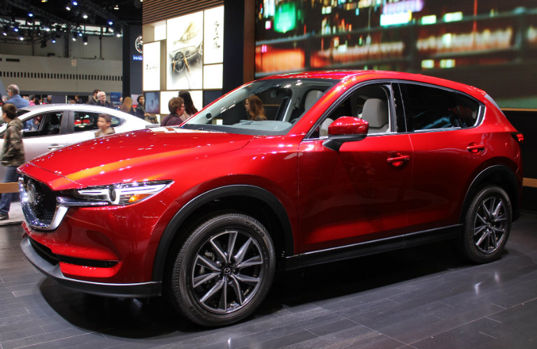 2017 Mazda CX-5 Chicago Auto Show left side profile