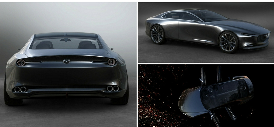 New-Mazda-Vision-Coupe-collage-rear-view-side-view-and-birds-eye-view-of-exterior