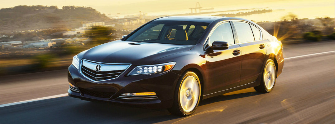 2017 Acura RLX new features and specifications
