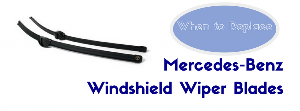 How often should you replace mercedes benz wiper blades for Mercedes benz c300 windshield replacement