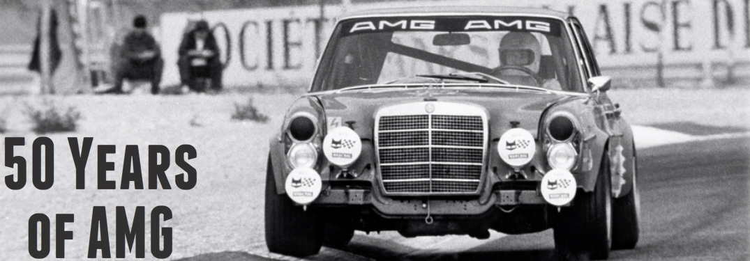 50th Anniversary of Mercedes-AMG Throughout the Years