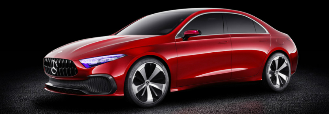 Release Date of the 2018 Mercedes-Benz Concept A Sedan