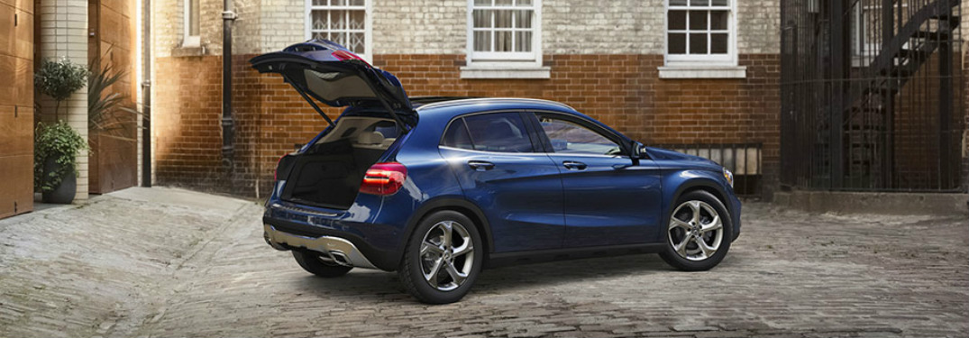How Much can you fit in the 2018 Mercedes-Benz GLA?